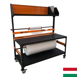 Mobile packing table 180x80cm
