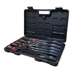 Hex screwdriver set, 11 pieces